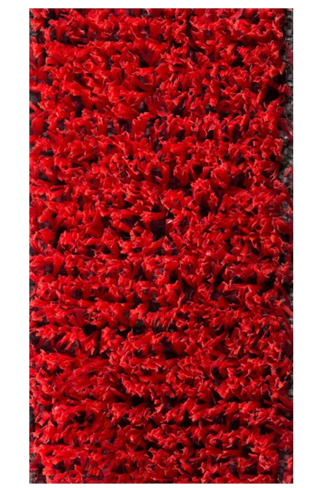 Synthetic turf EURO 500 RED